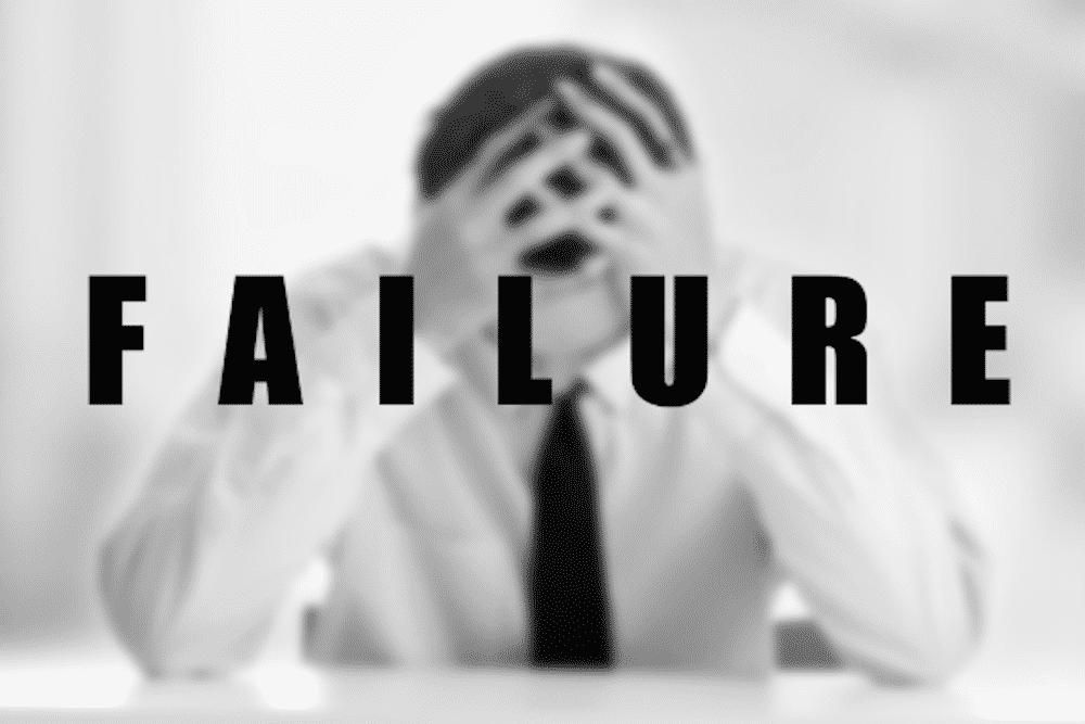 penyebab-bisnis-gagal - perusahaan yang gagal - 7 Alasan Mengapa Banyak Orang Gagal, Jadilah Seorang Pemenang