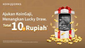Promo Lucky Draw KoinGaji